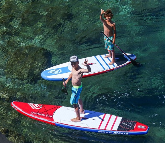 lezioni bambini surf, sup, windsursurf